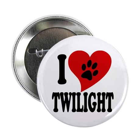 """I Love Twilight 2.25"""" Button (10 pack)"""