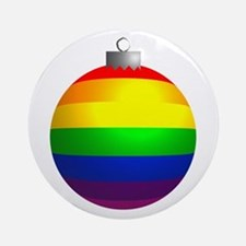 Rainbow Ornament Ornament (Round)