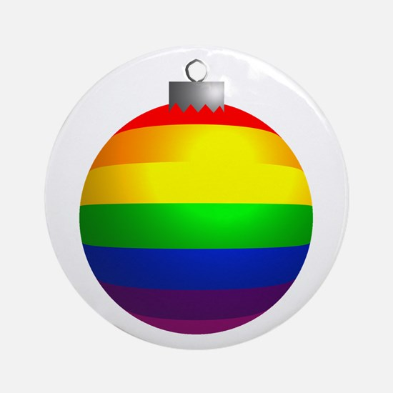 Rainbow Ornament Ornament (Round)