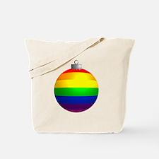 Rainbow Ornament Tote Bag