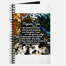 MAJESTIC TREES POEM - Journal