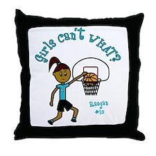 Basketball-Raegan Throw Pillow