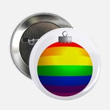"Rainbow Ornament 2.25"" Button (10 pack)"