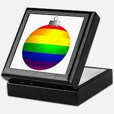 Rainbow Ornament Keepsake Box