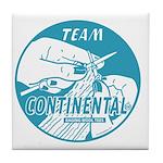 Team Continental Tile Coaster