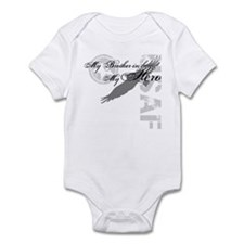My Brother-in-law My Hero USAF Infant Bodysuit