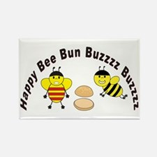 Bee Engrish Rectangle Magnet