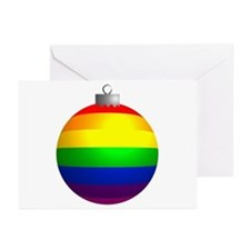Rainbow Ornament Greeting Cards (Pk of 10)
