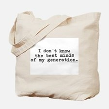 Cute My generation Tote Bag