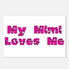 My Mimi Loves Me! (Pink Stars) Postcards (Package