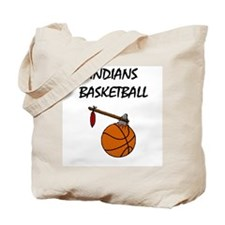 Indians Basketball - High Sch Tote Bag