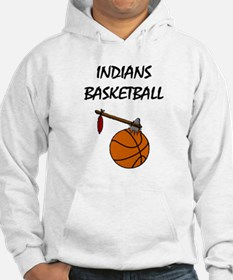 Indians Basketball - High Sch Hoodie
