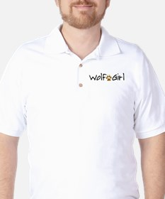 Wolf Girl Golf Shirt