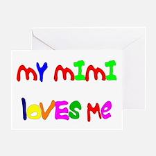 My Mimi Loves Me! (Croobie) Greeting Card