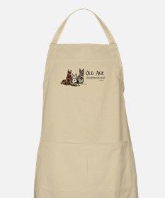 Scottish Terrier Old Age BBQ Apron