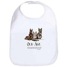 Scottish Terrier Old Age Bib