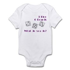 Three Dice... Infant Bodysuit