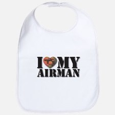 Love My Airman Bib