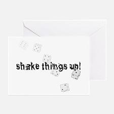 Shake things up! Greeting Cards (Pk of 10)