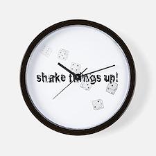 Shake things up! Wall Clock