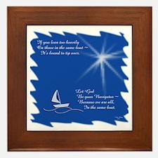 God, Navigator Framed Tile