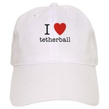I Heart Tetherball Baseball Cap