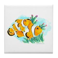 Clownfish Tile Coaster