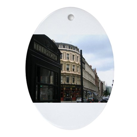 London Oval Ornament