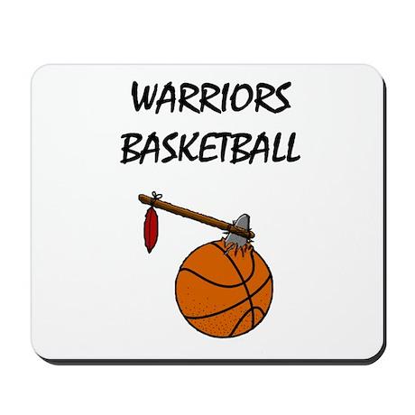 Warriors Basketball - High Sc Mousepad