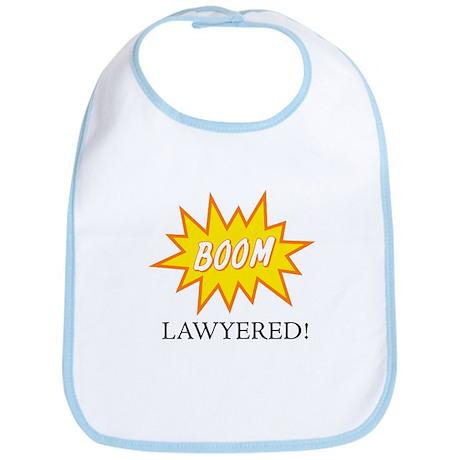 Boom Lawyered! Bib