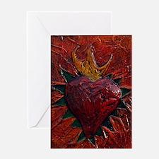 Sacred Heart 21 Greeting Card