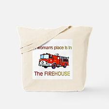 firehouse women Tote Bag