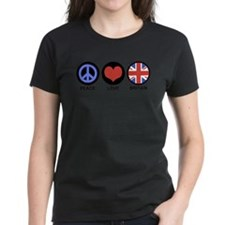 Peace Love Britain Tee