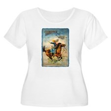 Vintage Cowgirl Roping T-Shirt