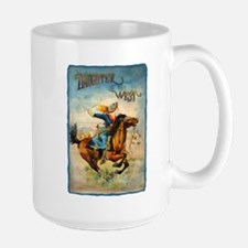 Vintage Cowgirl Roping Mug