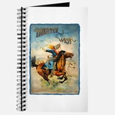 Vintage Cowgirl Roping Journal