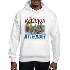 Religion is Mythology Jumper Hoody