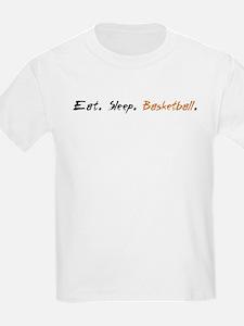 NEW Eat Sleep Basketball T-Shirt
