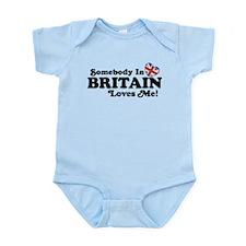 Somebody In Britain Loves Me Infant Bodysuit