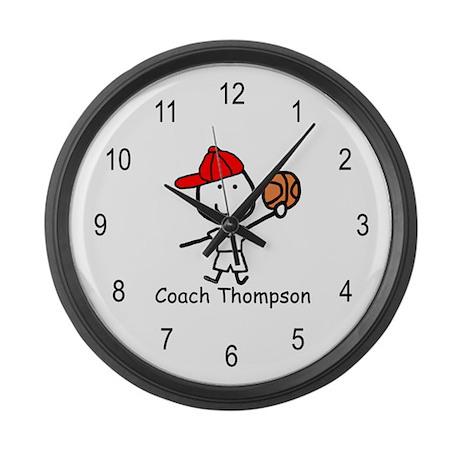 Basketball - Thompson Large Wall Clock
