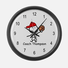 Basketball - Thompson Large Wall Clock