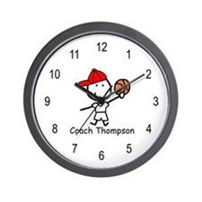 Basketball - Thompson Wall Clock