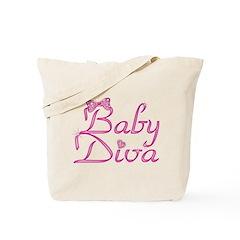 Baby Diva Tote Bag