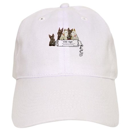 Old Age Scottish Terriers Cap