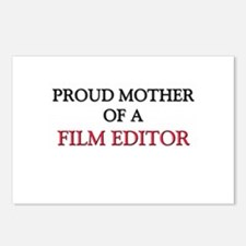 Proud Mother Of A FILM EDITOR Postcards (Package o