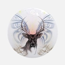 Big Buck Ornament (Round)