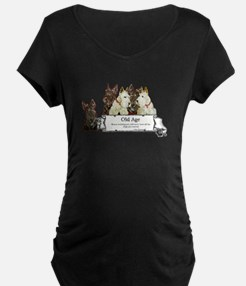 Old Age Scottish Terriers T-Shirt