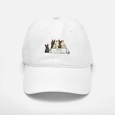 Old Age Scottish Terriers Baseball Baseball Cap