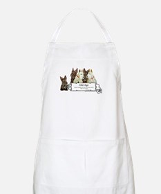 Old Age Scottish Terriers BBQ Apron