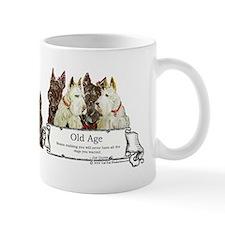 Old Age Scottish Terriers Mug